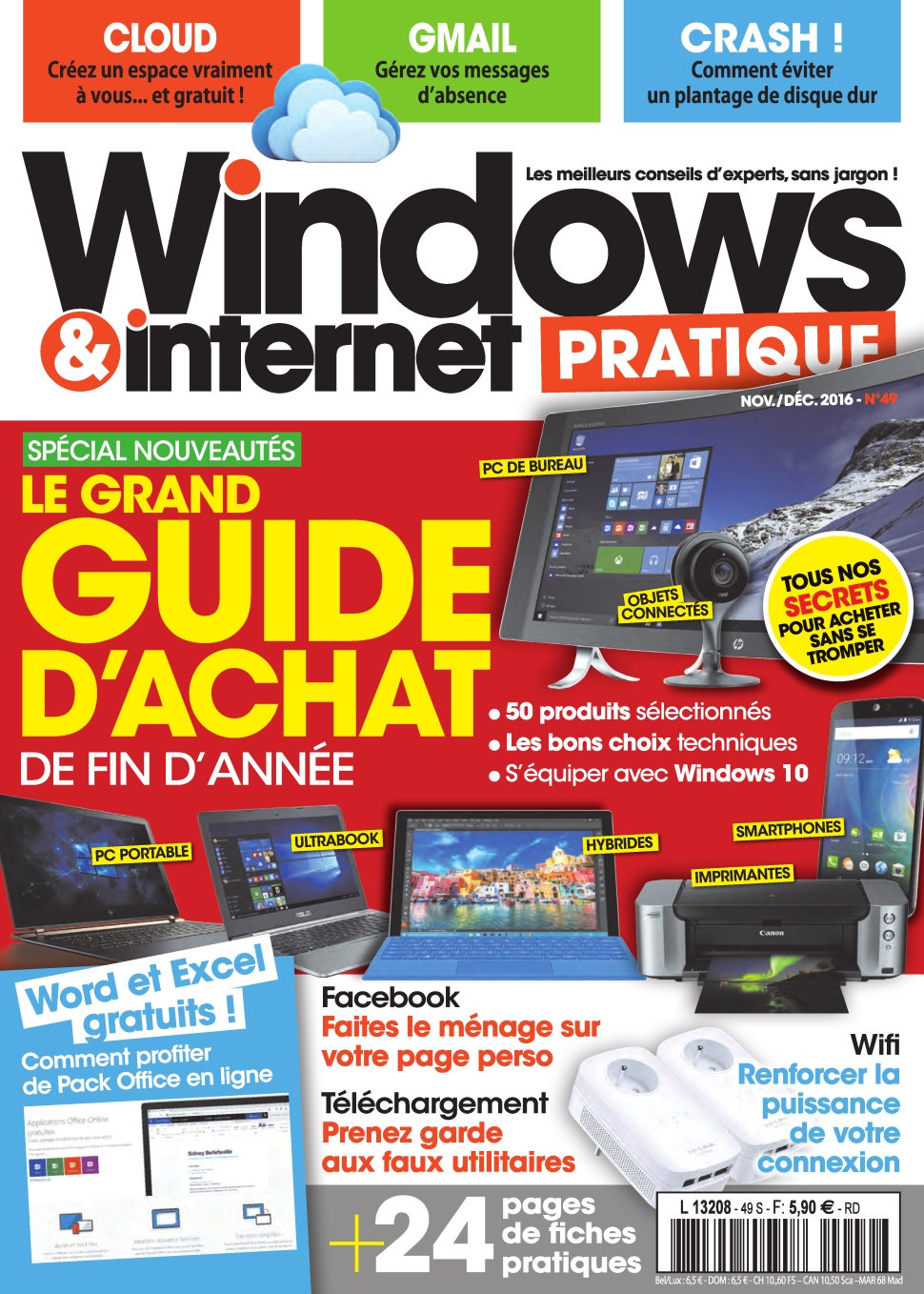 Windows & Internet Pratique N°49 - Novembre/Décembre 2016