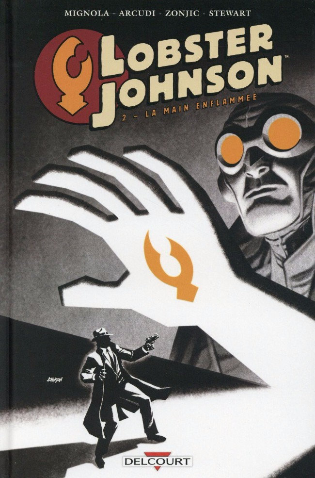 Lobster Johnson 3 Tomes