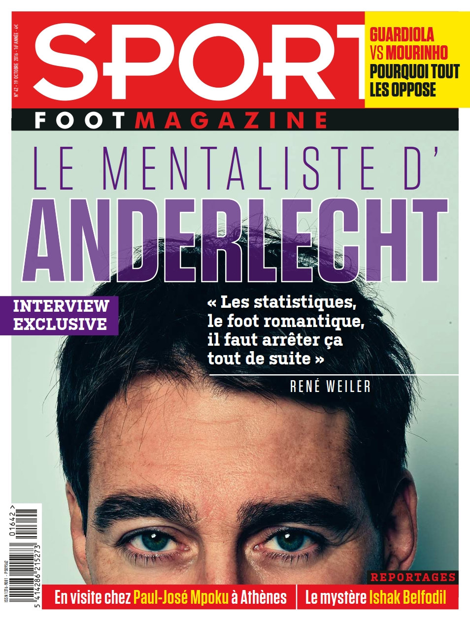 Sport/ Foot Magazine - 19 Octobre 2016