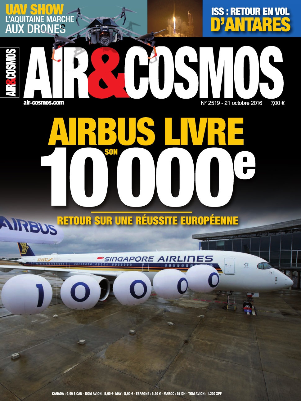 Air & Cosmos N°2519 - 21 Octobre 2016