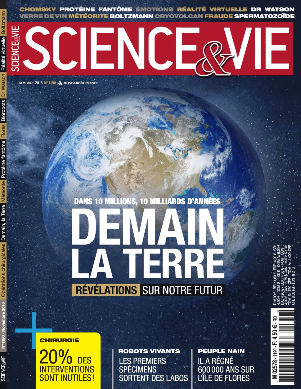 Science & Vie N°1190 - Novembre 2016