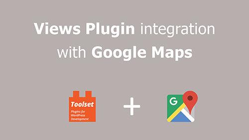 WP-Types - Toolset Maps v1.2.1 - WordPress Plugin