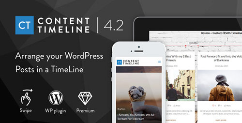 CodeCanyon - Content Timeline v4.3.1 - Responsive WordPress Plugin for Displaying Posts/Categories in a Sliding Timeline