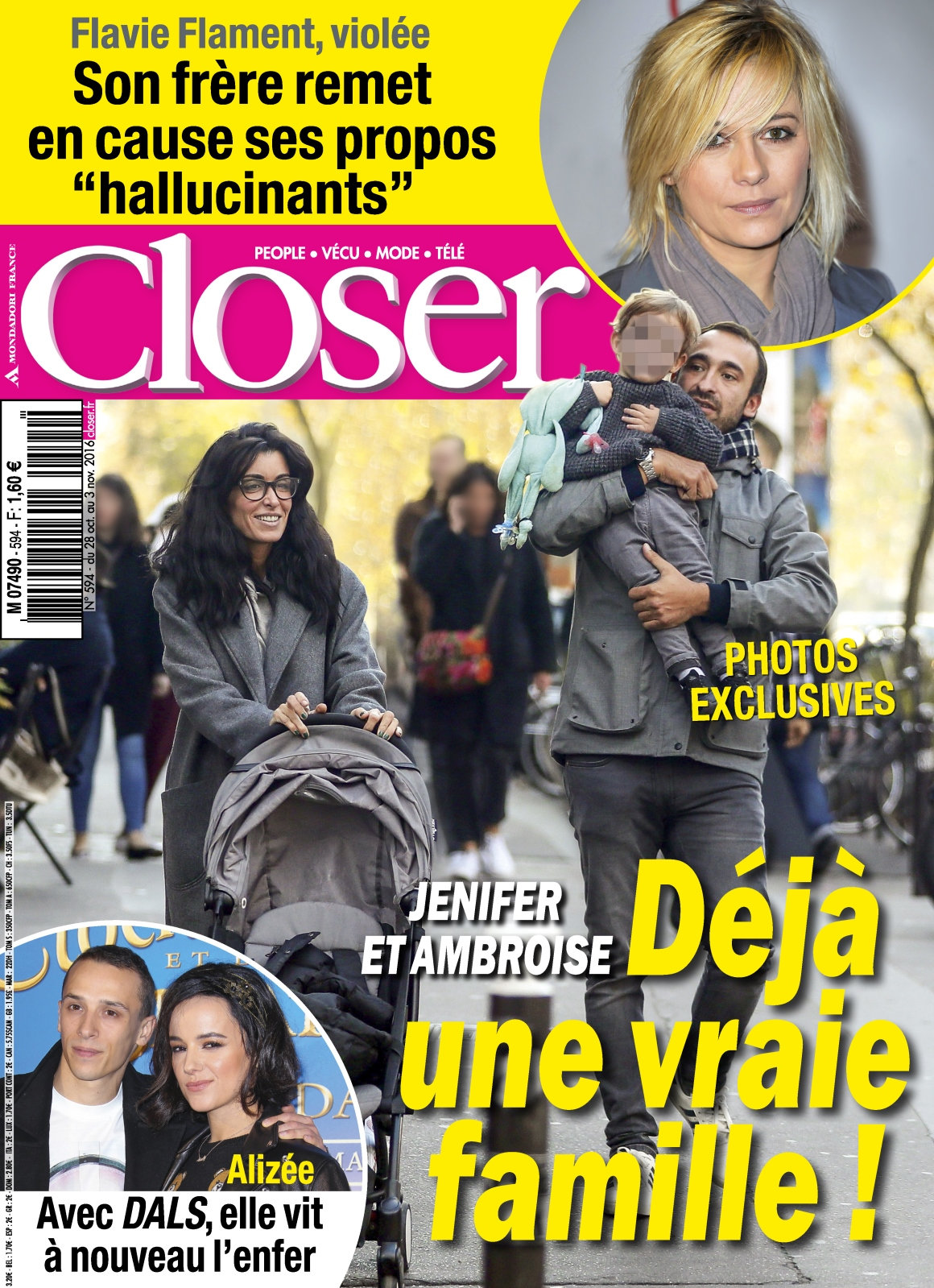 Closer 594 - 28 Octobre au 03 Novembre 2016