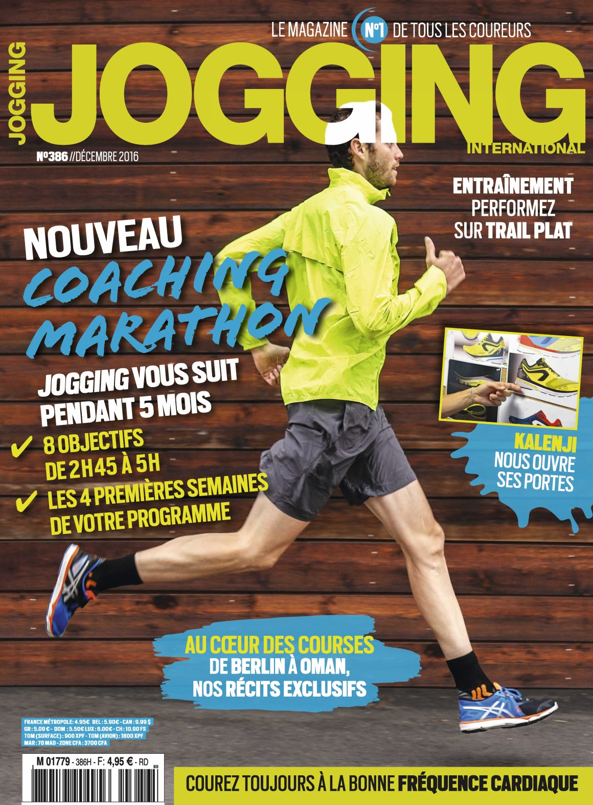 Jogging International 386 - Décembre 2016