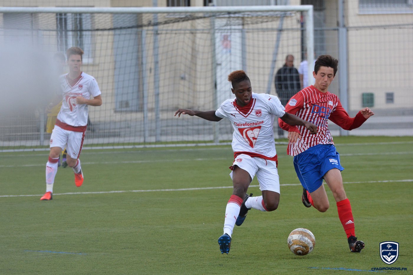 Cfa Girondins : Deux Bordelais au stage national U15 - Formation Girondins