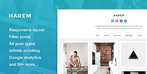 ThemeForest - Harem - Responsive Header Theme (Update: 30 July 15)