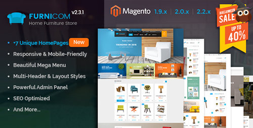 ThemeForest - Furnicom v2.4.0 - Responsive Magento Furniture Theme