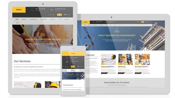 AitThemes - Brick v1.11 - WordPress Theme for Builders