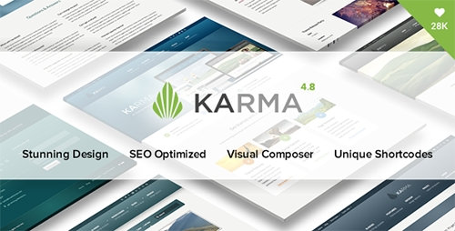 ThemeForest - Karma v4.8.3 - Responsive WordPress Theme