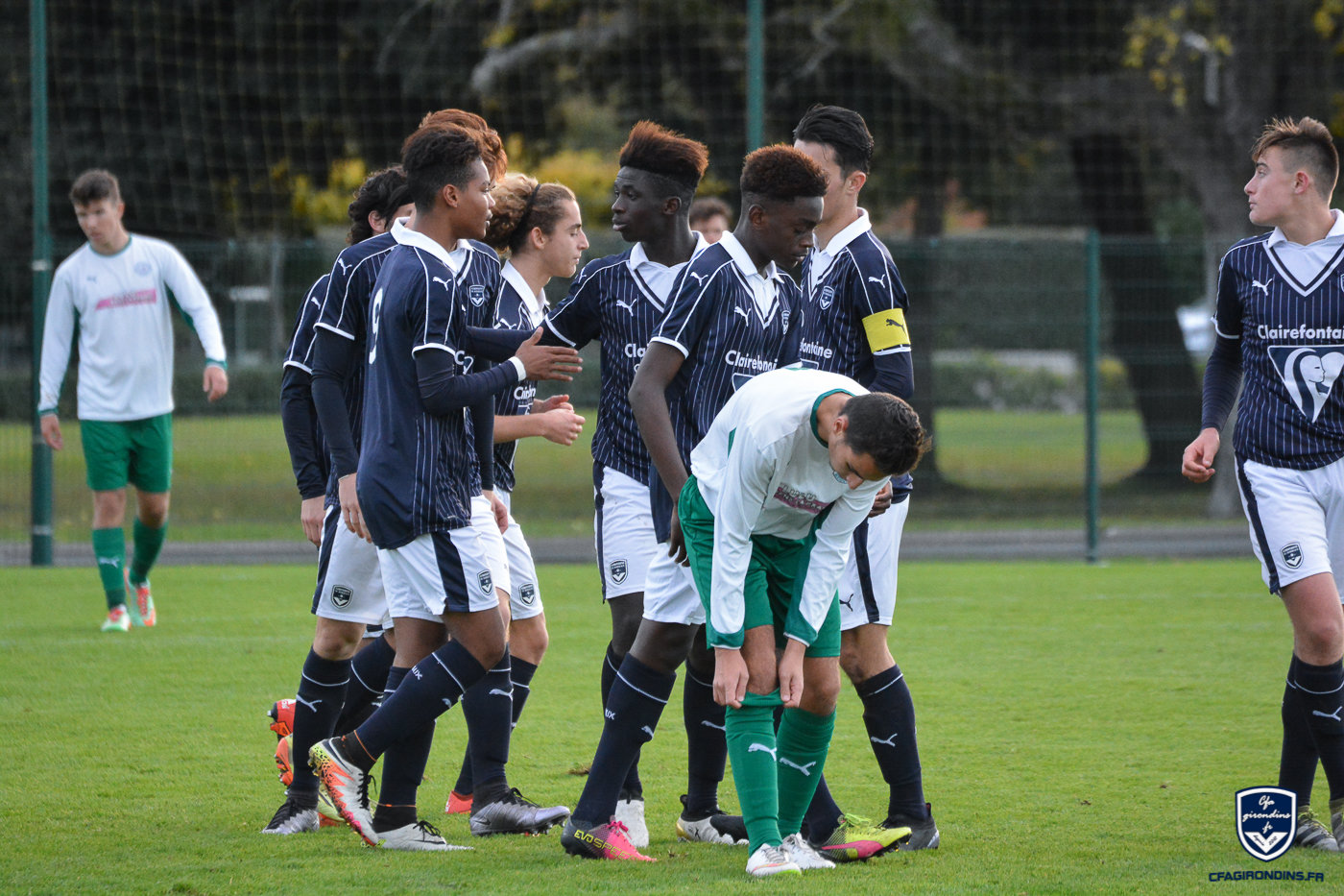Bordeaux champion d'Aquitaine U17 !