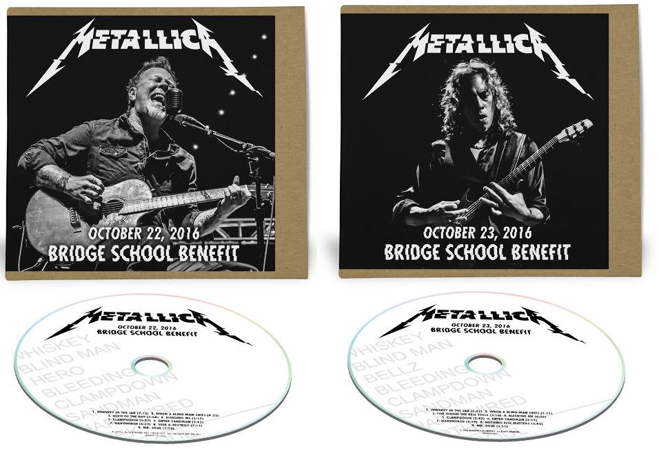 Metallica : Bridge School Benefit, 22 et 23 octobre 2016