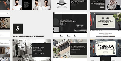 ThemeForest - Solace v1.0 - Highly Flexible Component Based HTML5 Template