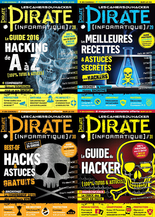 Pirate Informatique - Full Year 2016 Collection