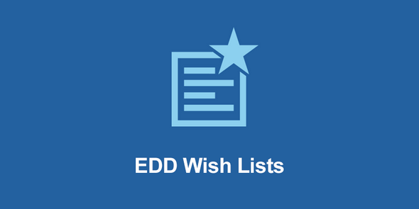 EasyDigitalDownloads - EDD Wish Lists v1.1.3