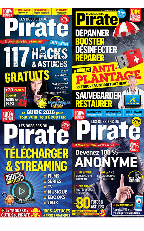 Les dossiers du Pirate - Full Year 2016 Collection