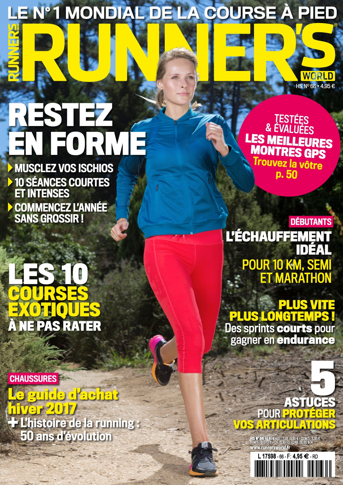 Runner''s World N°66 - Janvier 2017