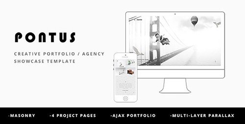 ThemeForest - Pontus v1.0 - Creative Portfolio / Agency Template