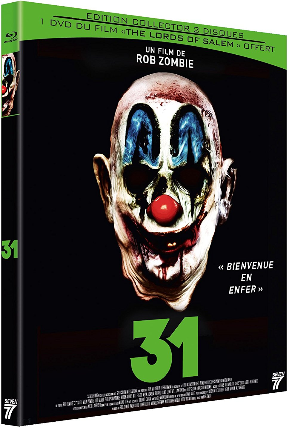 31 de rob zombie critique blu ray et dvd pifff 2016 freakin 39 geek. Black Bedroom Furniture Sets. Home Design Ideas