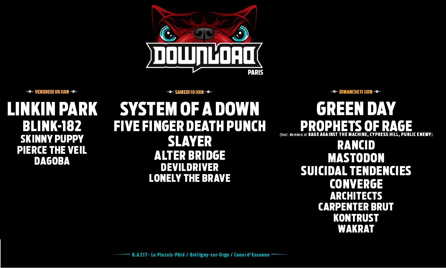 Download Festival France 2017