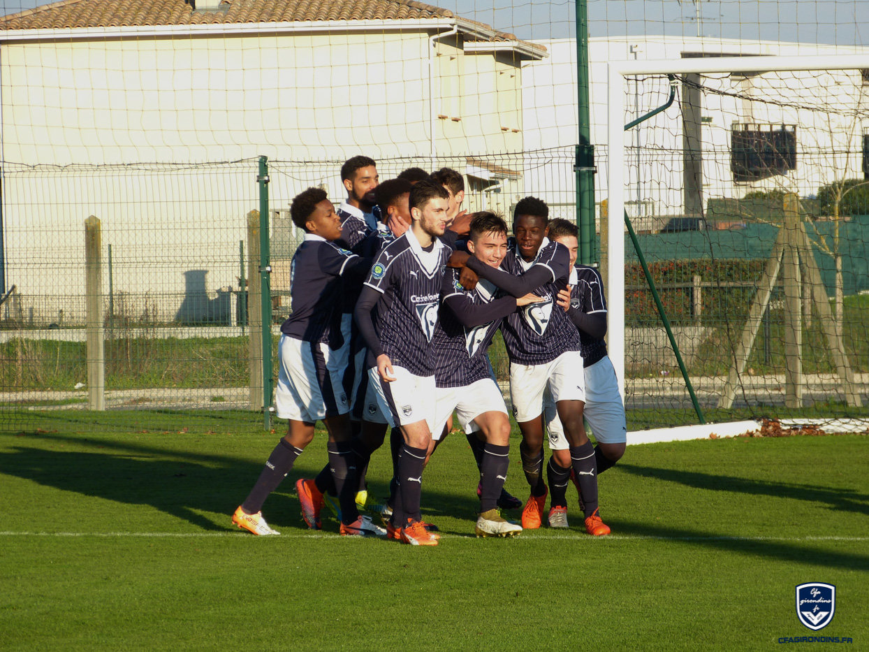 Cfa Girondins : Victoire contre Bayonne (3-1) - Formation Girondins