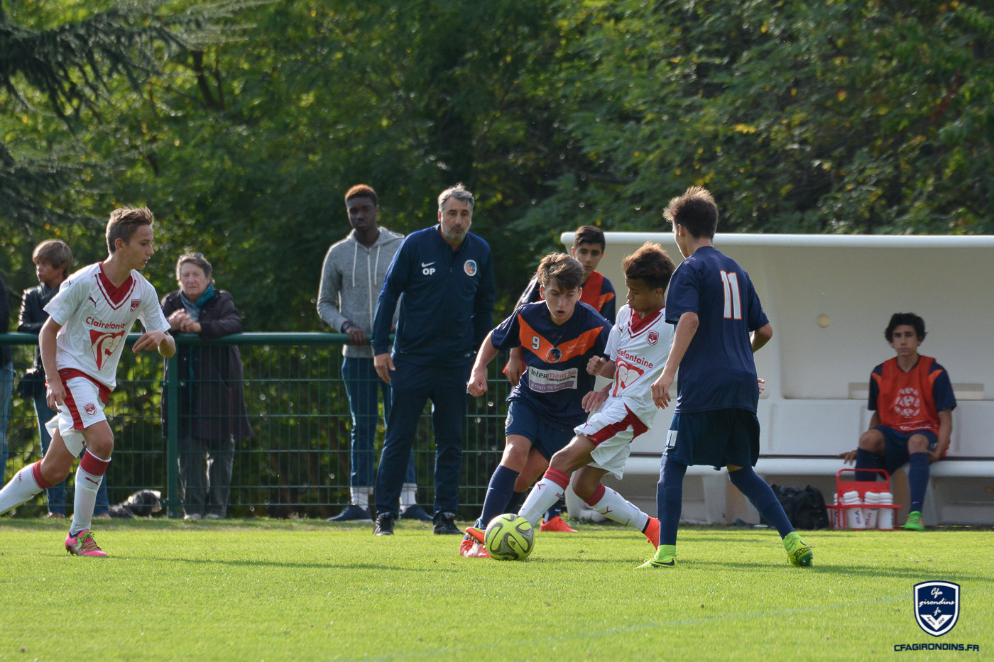 Cfa Girondins : Une victoire pour finir (1-5) - Formation Girondins