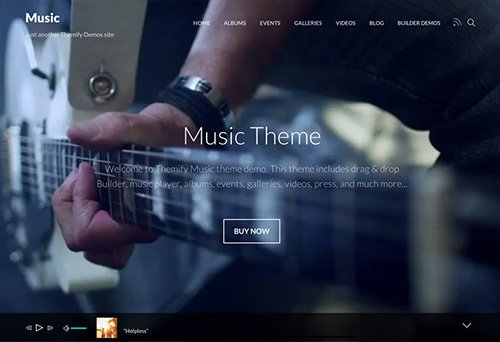 Themify - Music v1.6.1 - WordPress Theme