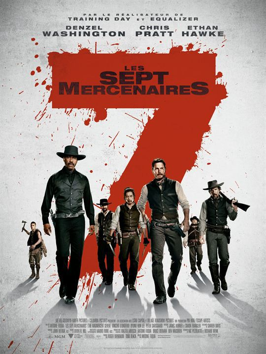 Les 7 Mercenaires FRENCH BDRip