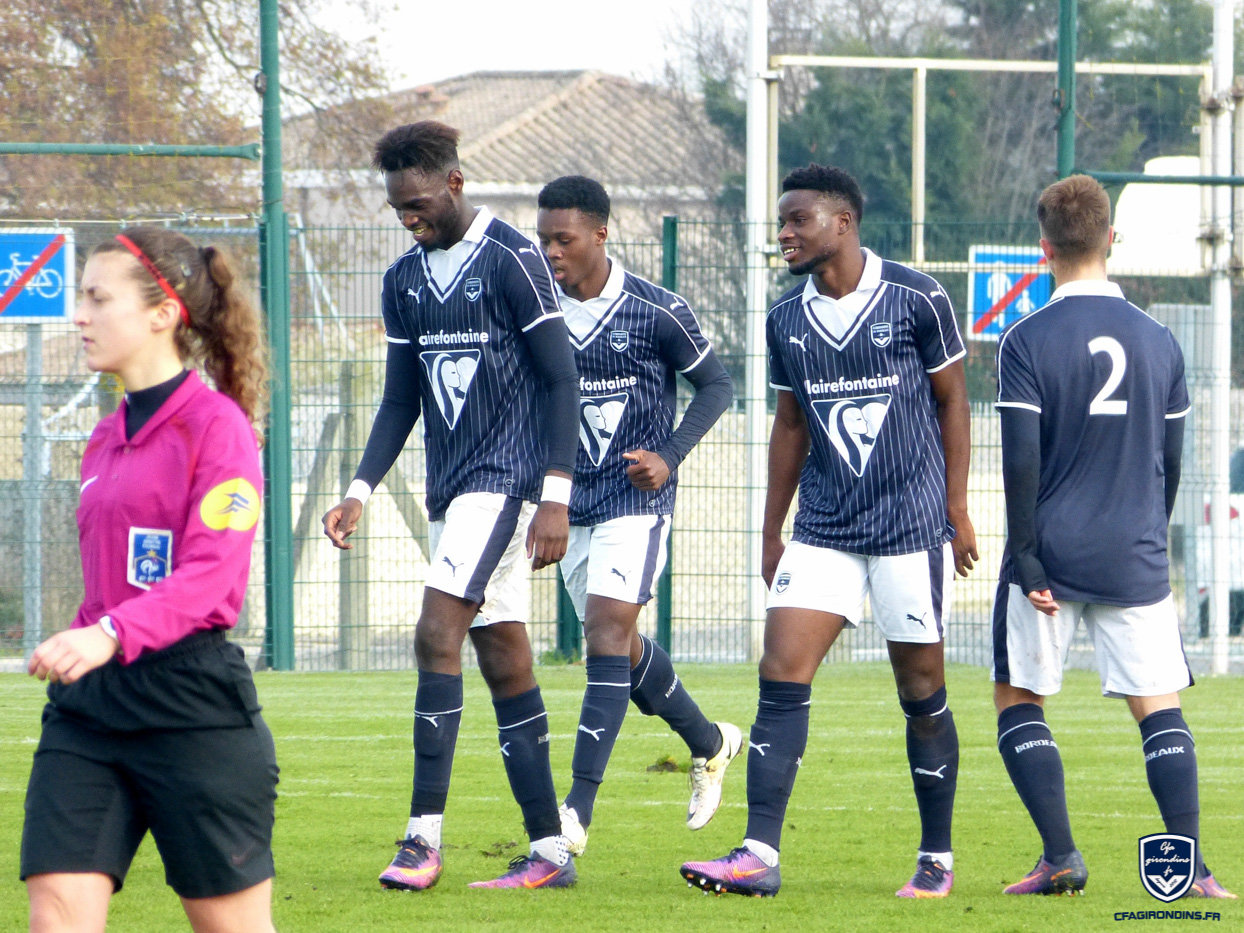 Cfa Girondins : Une victoire pour terminer 2016 (4-0) - Formation Girondins