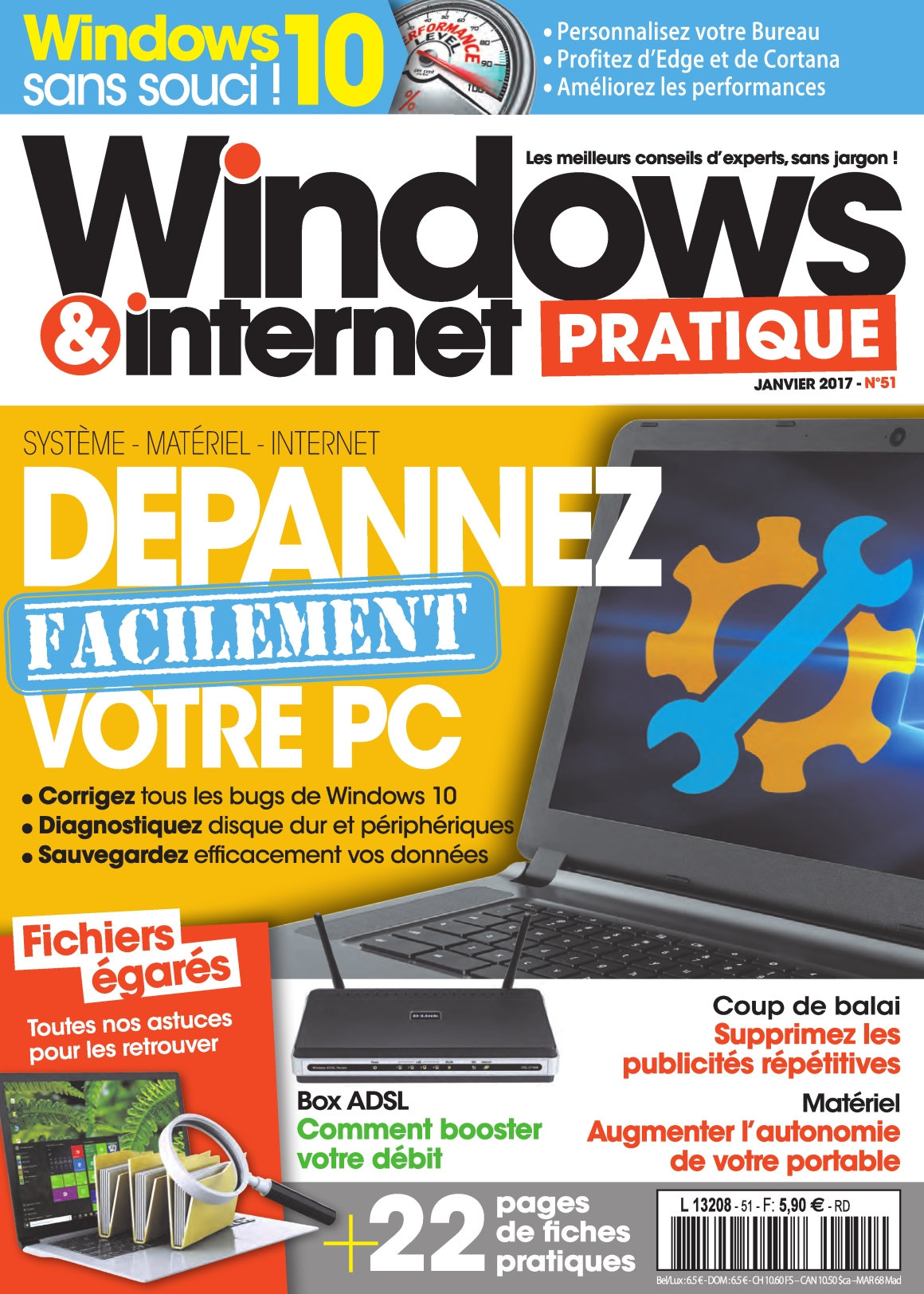 Windows & Internet Pratique 51 - Janvier 2017