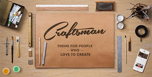 ThemeForest - Craftsman v1.4.7 - WordPress Craftsmanship Theme
