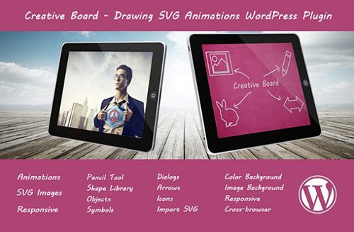 CreativeMarket - Creative Board v1.1 - Drawing SVG Plugin