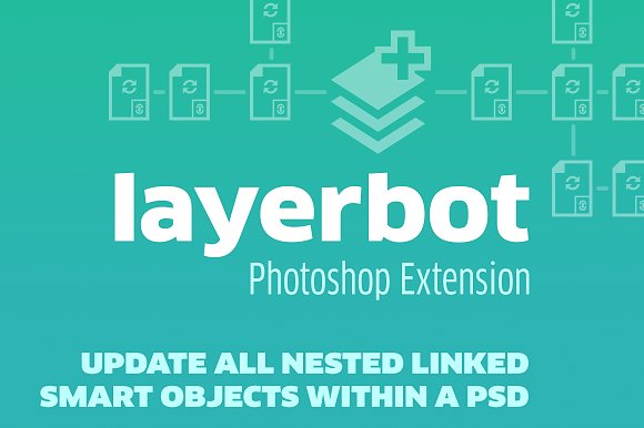 CreativeMarket - Layerbot Photoshop CC Extension