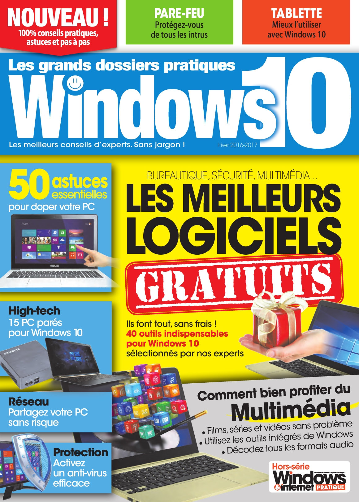 Windows & Internet Pratique Hors-Série Windows 10 - Hiver 2016-2017