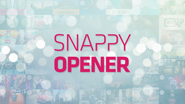 VideoHive - Snappy Opener - Project for After Effects