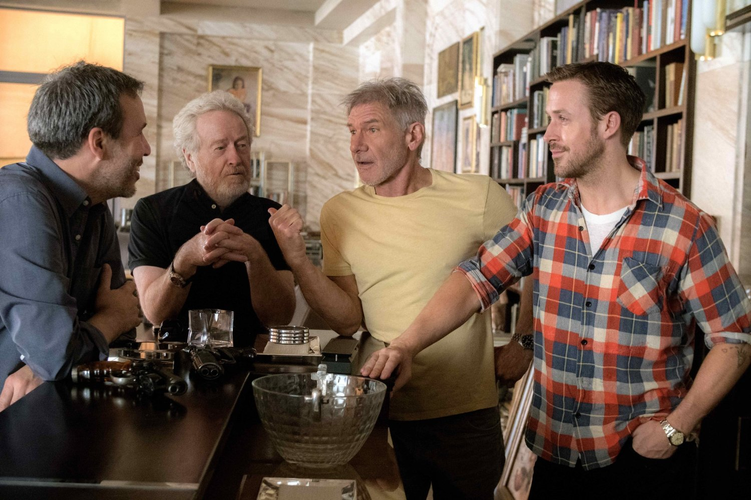 Blade Runner 2049 : Harrison Ford, Ryan Gosling, Ridley Scott et Denis Villeneuve