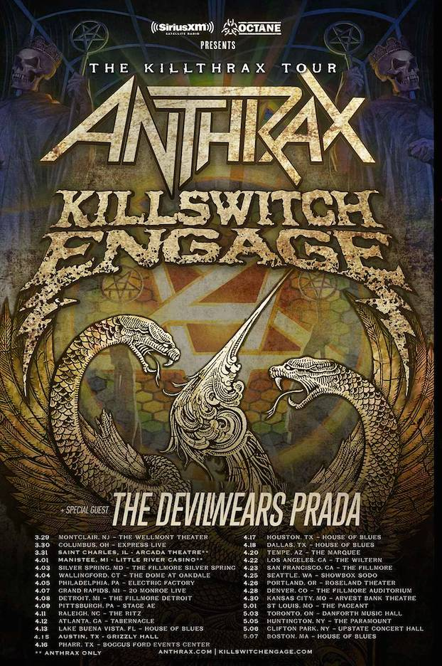 KillThrax American Tour 2017