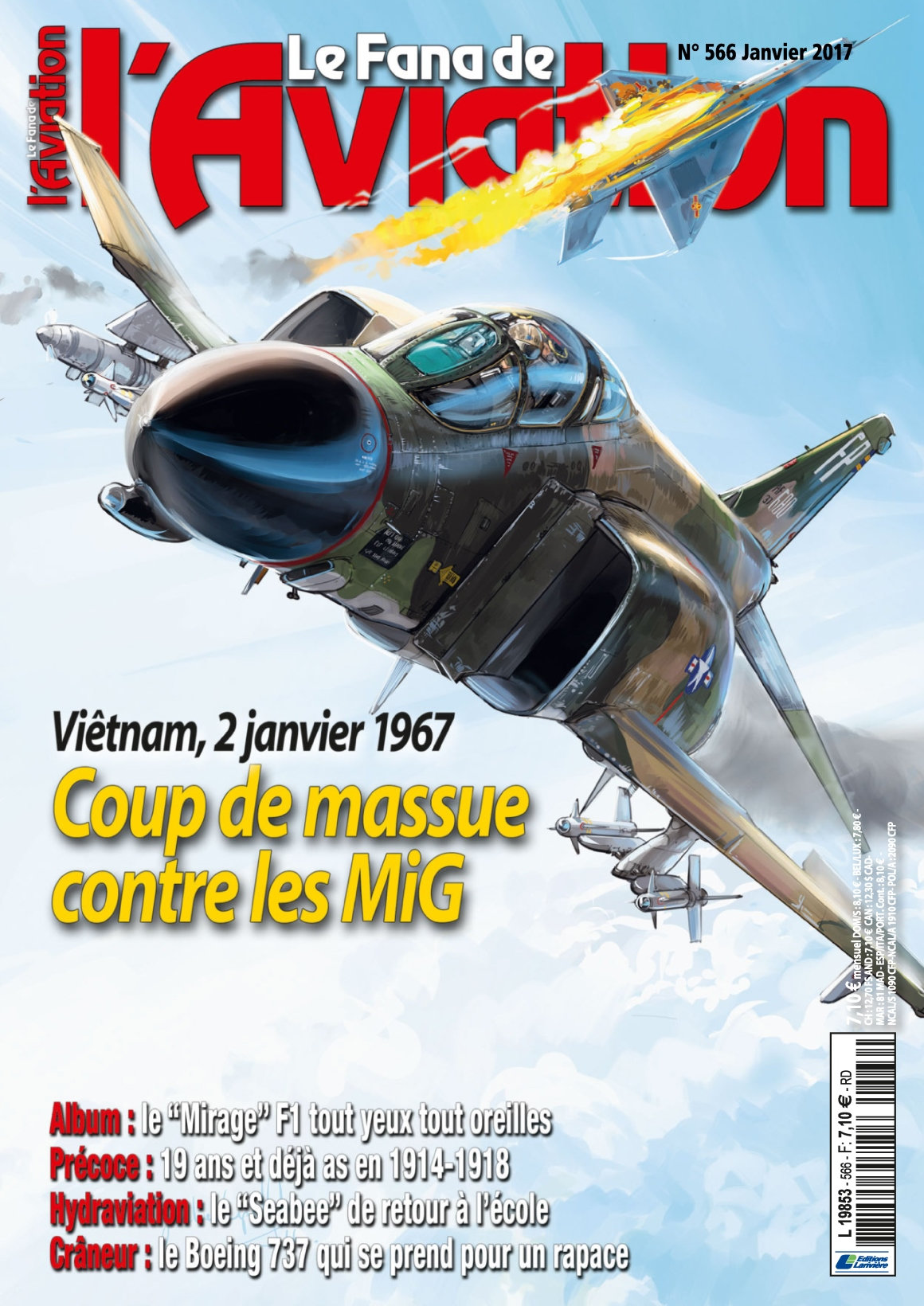 Le Fana de l'Aviation N°566 - Janvier 2017
