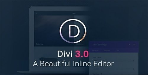 ElegantThemes - Divi v3.0.26 - WordPress Theme