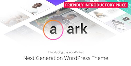 ThemeForest - The Ark v1.4.0 - Next Generation WordPress Theme