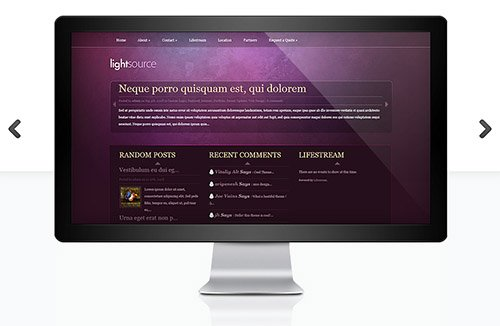 ElegantThemes - LightSource v4.3.6 - WordPress Theme