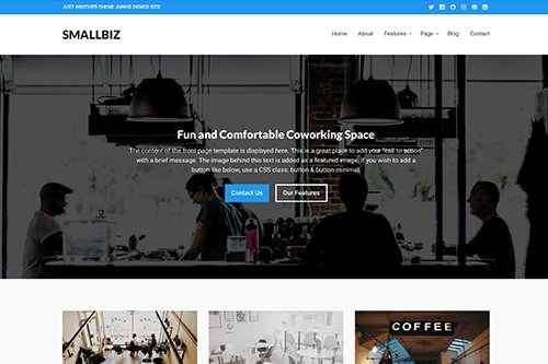 Theme-Junkie - Smallbiz v1.0.0 - WordPress Theme
