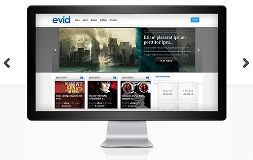 ElegantThemes - eVid v4.6.6 - WordPress Theme
