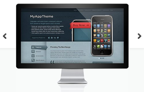 ElegantThemes - MyApp v4.4.6 - WordPress Theme