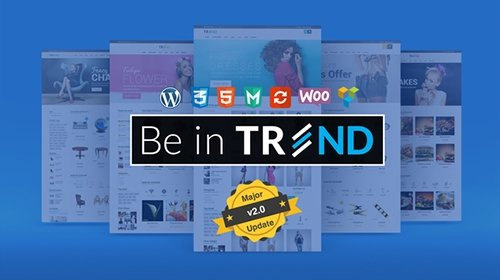 ThemeForest - Trend v2.0.1 - Multipurpose / Fashion / Restaurant / Construction / Modern Shop WooCommerce WordPress Theme