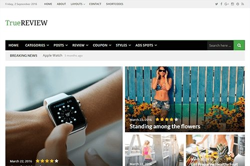 Theme-Junkie - TrueReview v1.0.2 - WordPress Theme