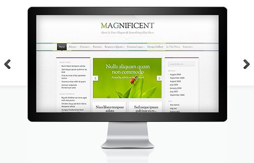 ElegantThemes - Magnificent v3.8.6 - WordPress Theme
