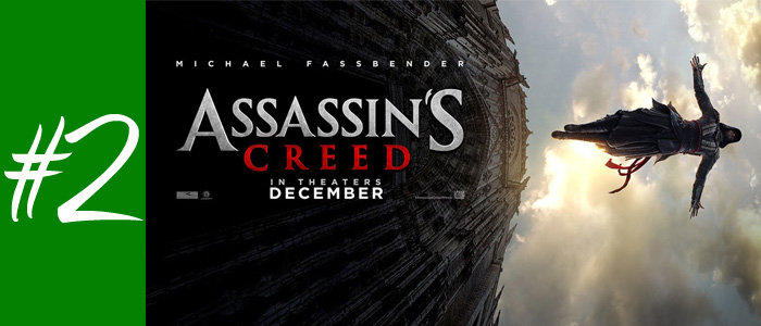 #2 : Assassin's Creed de Justin Kurzel