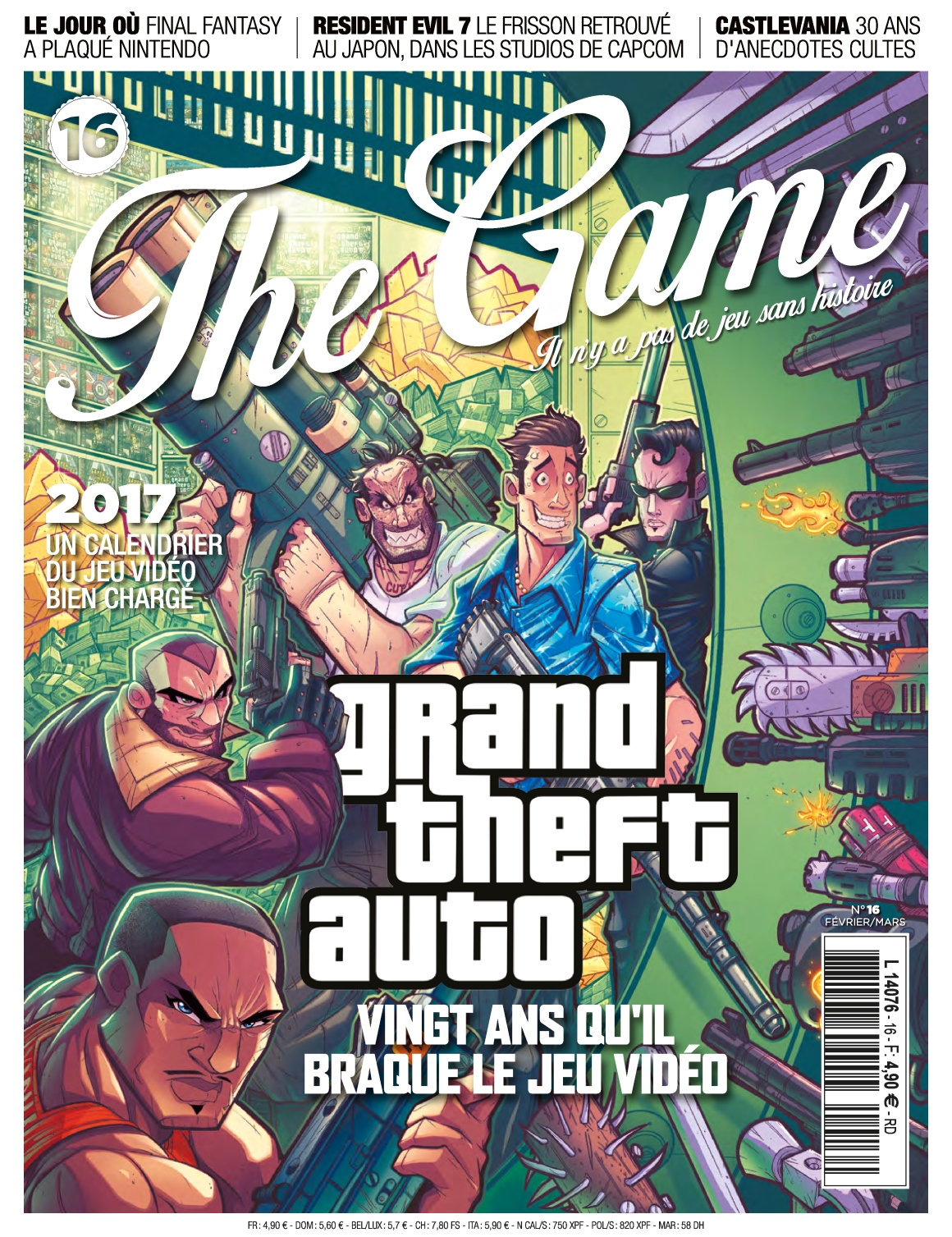 The Game N°16 - Janvier/Mars 2017