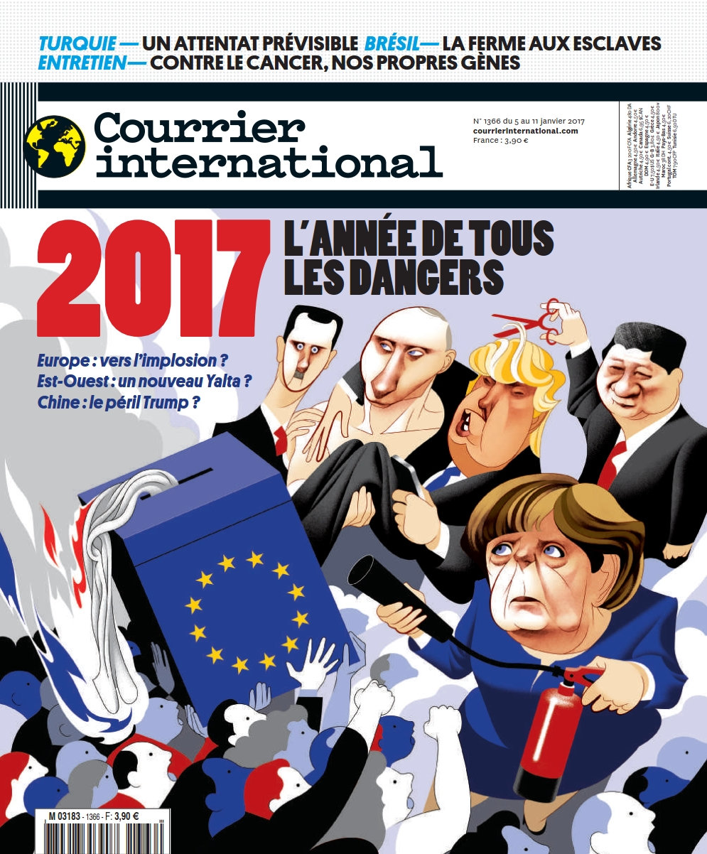 Courrier international N°1366 - 5 au 11 Janvier 2017